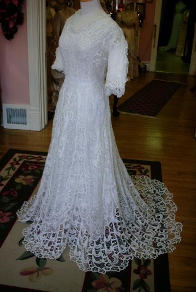 Свадебные платья позднего викторианства и Belle Époque.
